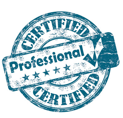 Certified Professional Blue Stamp