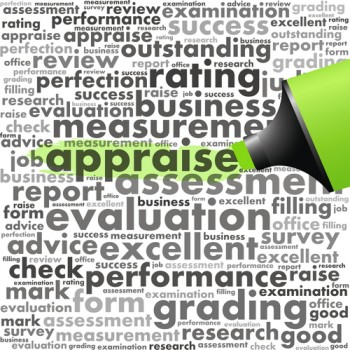 words with appraise hilighted